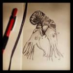 2-Headed Ammonite