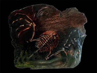 Mythical Flying Trilobite by GlendonMellow