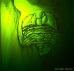 Acid-green Trilobite