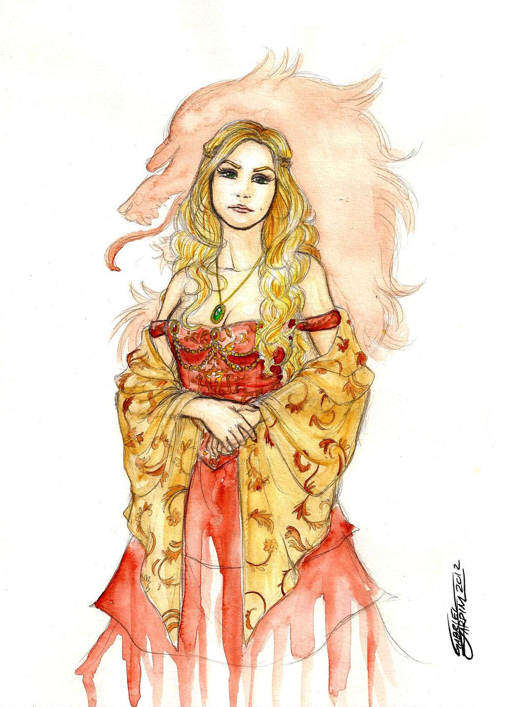 Cersei Lannister by GabrielJardim