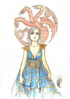 Daenerys Targaryen by GabrielJardim