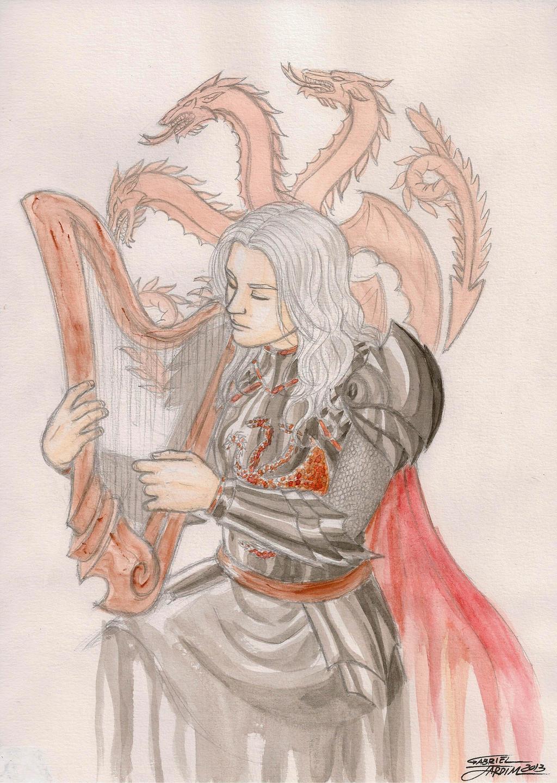 Rhaegar Targaryen by GabrielJardim