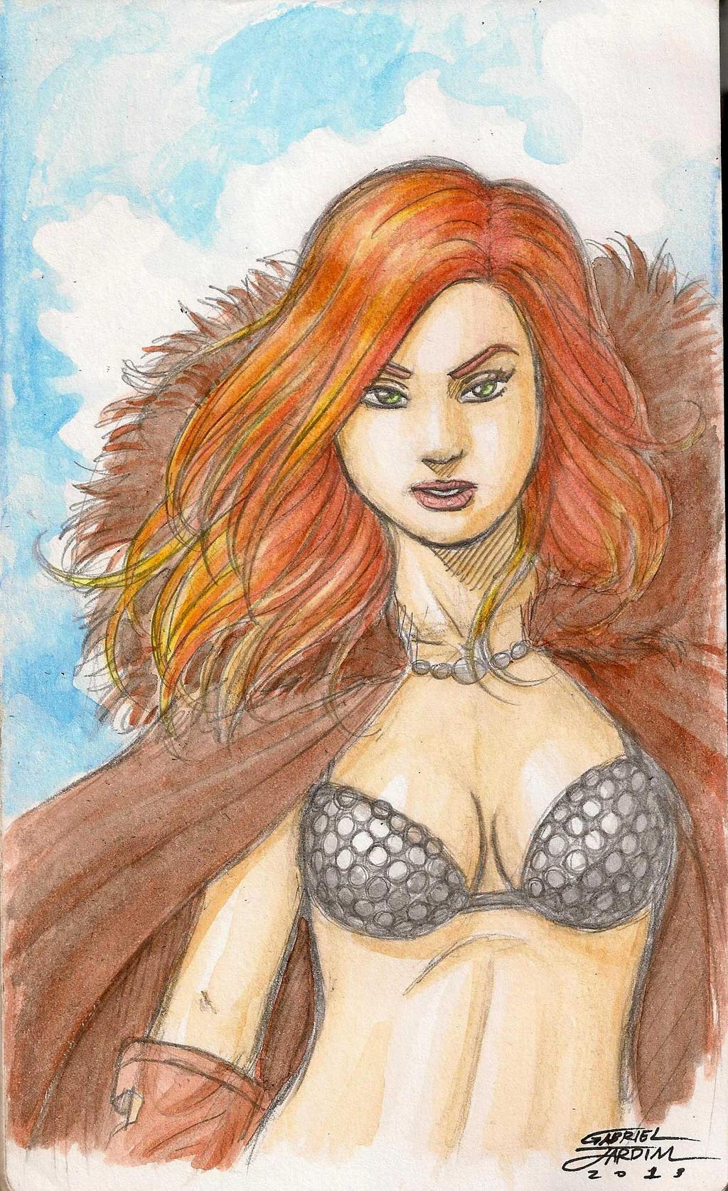 Red Sonja by GabrielJardim