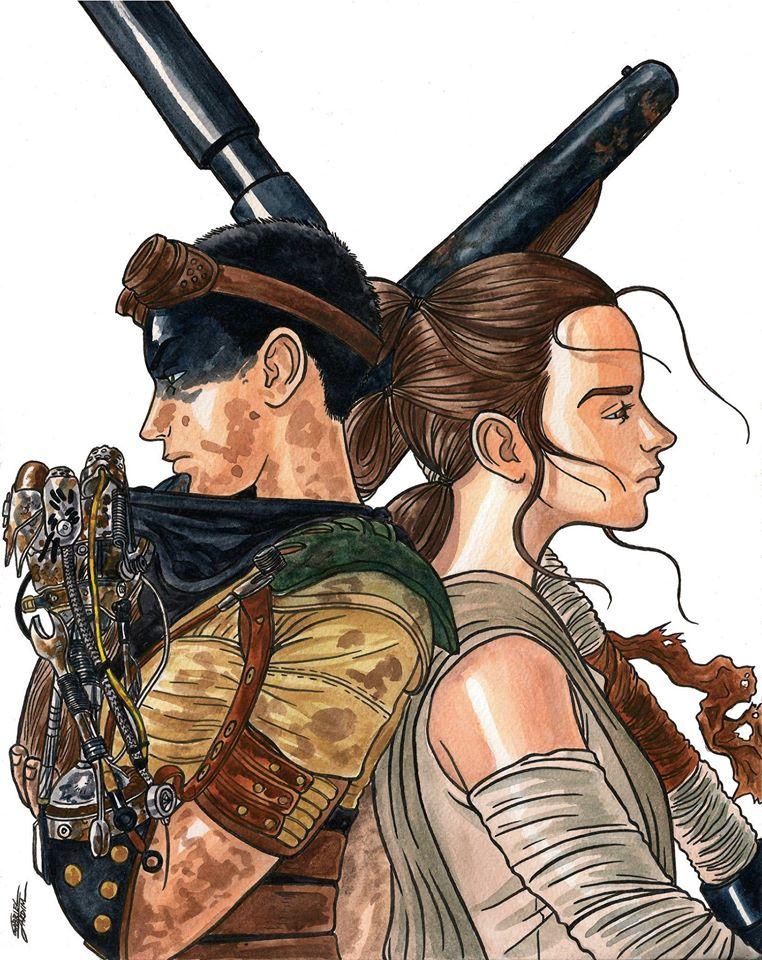 Furiosa and Rey by GabrielJardim
