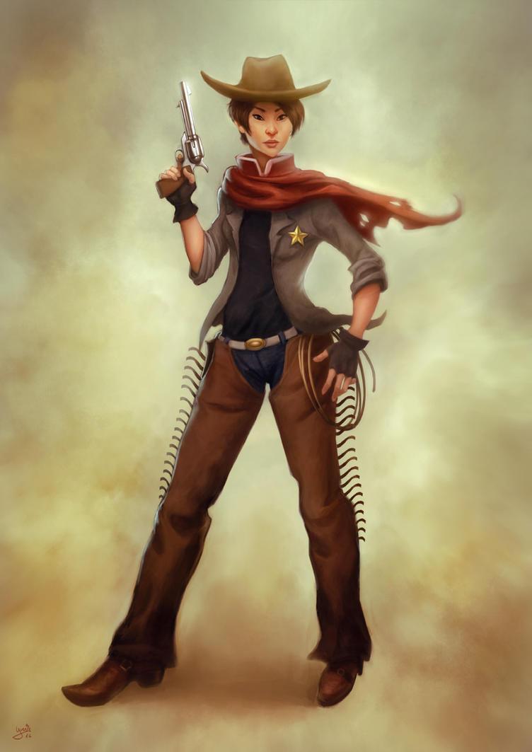 Gunslinger by FrankCP