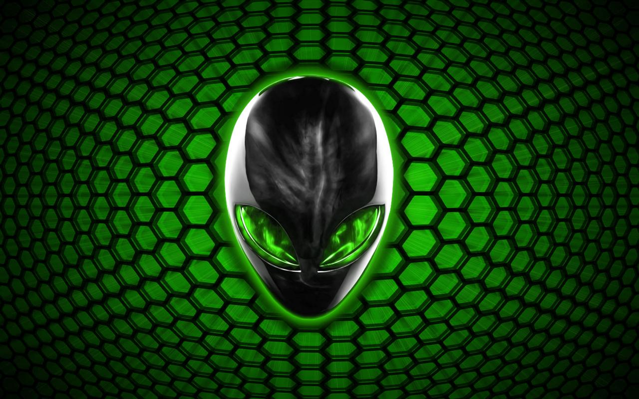 alienware wallpaper green hd - photo #21