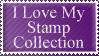 i love my stamp collection by lilackitty