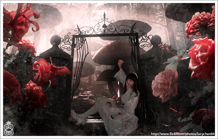 Sleeping Alice by lucypop