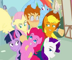 Human Pony Pile by Sipioc