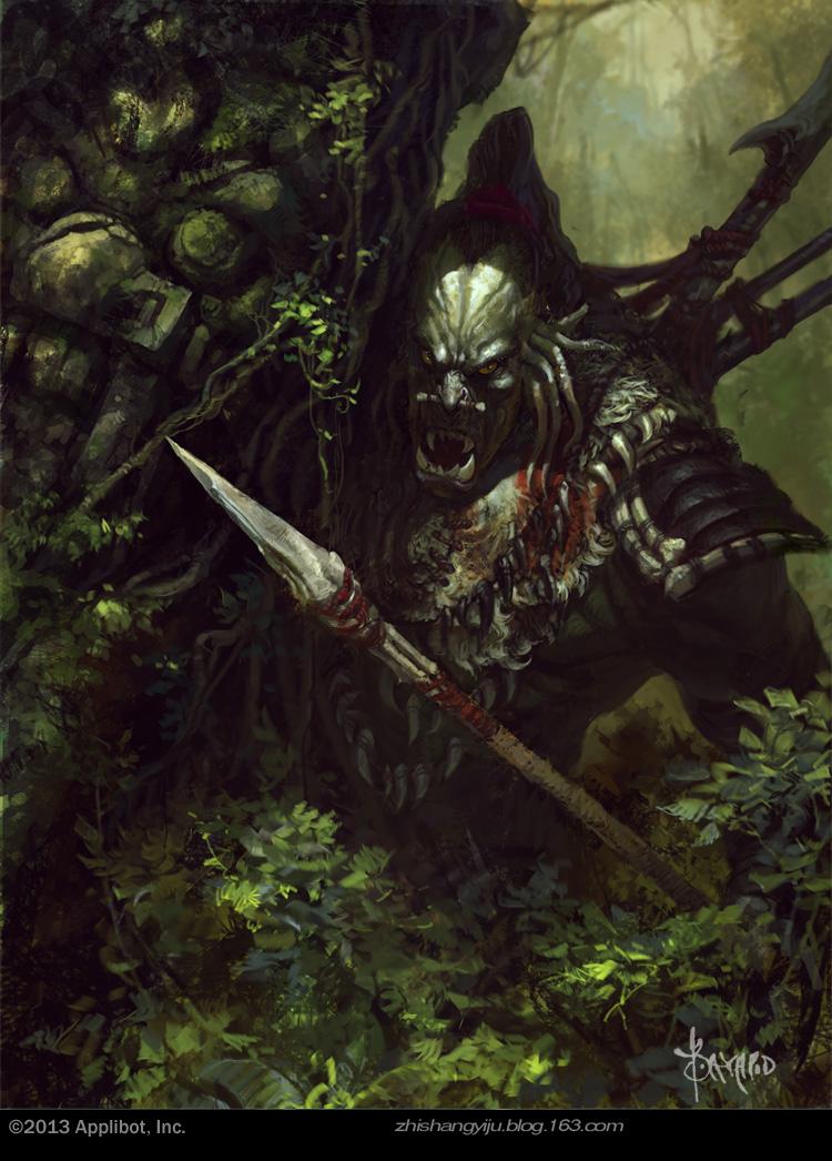 Jungle Hunter by bayardwu