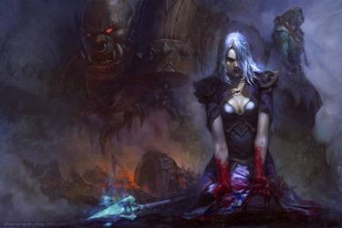 blood of Theramore by bayardwu