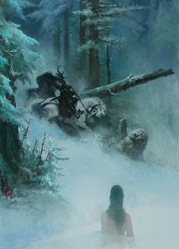 Snow by bayardwu