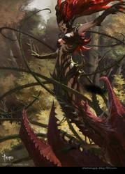 Cannibal Plant by bayardwu