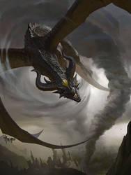Storm Dragon= by bayardwu