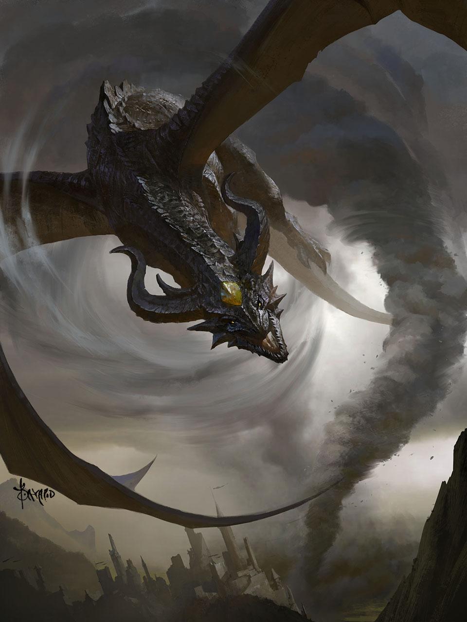 Storm Dragon by bayardwu on DeviantArt
