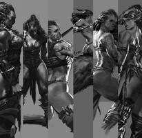 Ms. Orc by bayardwu