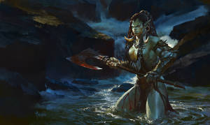 Ms.Orc- Last stand