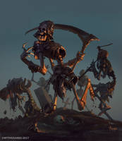 Dancing Skeleton by bayardwu