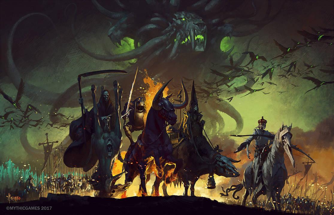 Four Horsemen of the Apocalypse by bayardwu on DeviantArt