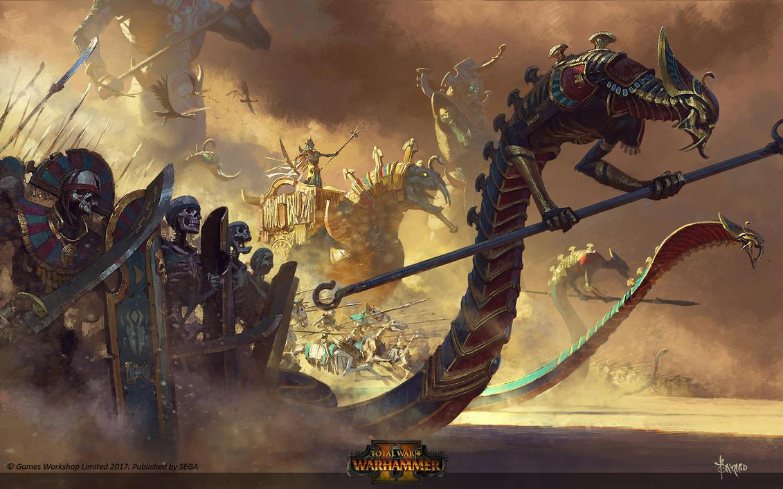Tomb Kings by bayardwu