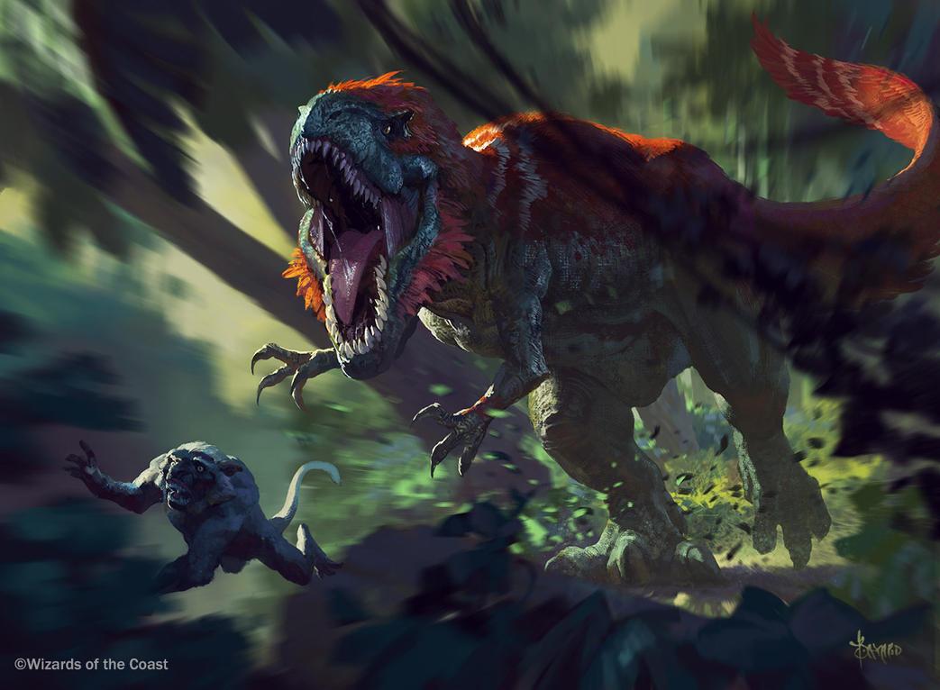 Thrundering Sharptooth by bayardwu