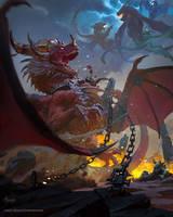 Alexstrasza-Blizzard WOW Chronic Vol.3 by bayardwu