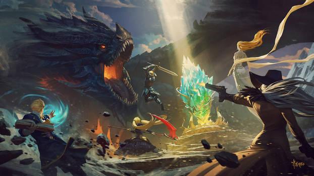 Cover art for Daybreak Legends