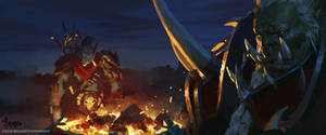 Keyframe for the latest cinematic of World of Warc