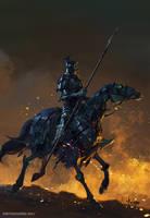 Skeleton Rider by bayardwu
