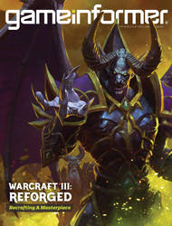 cover art of Gameinformer Nov. 2018 by bayardwu