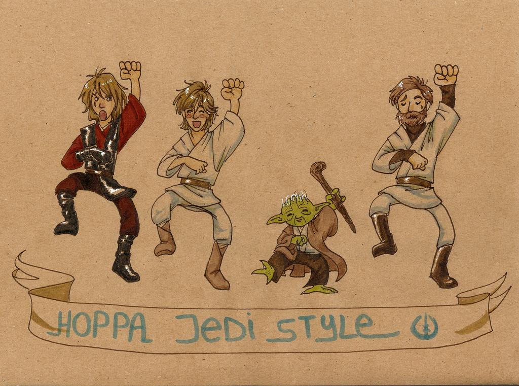 Jedi Style by WendySyndrome