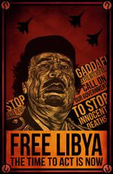 Free Libya by Everywhen