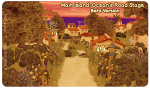 MMD Main Island: Ocean's Road BETA Stage Download by Adrianbrazt10
