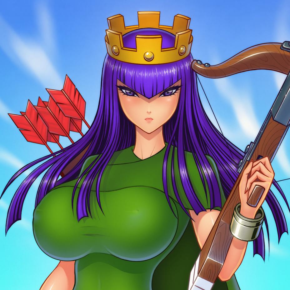 Archer Queen by akiranime on DeviantArt