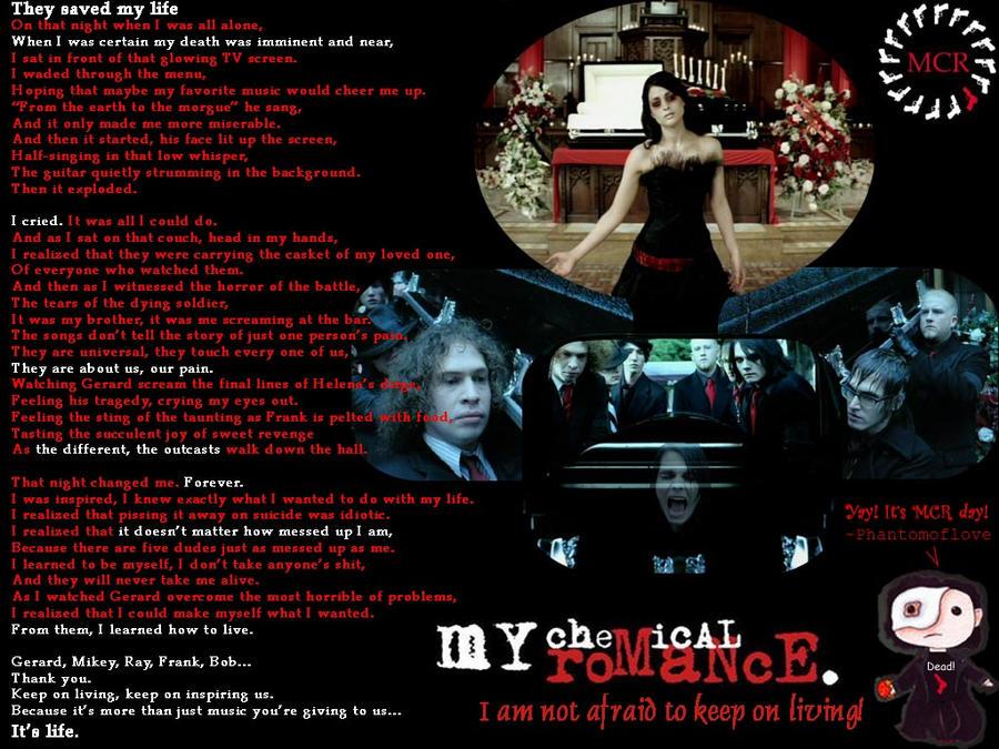 My Chemical Romance tribute by Phantomoflove