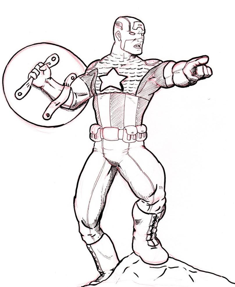 Dibujos Del Capitan America Para Colorear E Imprimir ~ Ideas ...