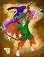 Robin Hood by Pumaboy3d