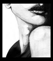 ::Woman in black:: by Hilaya