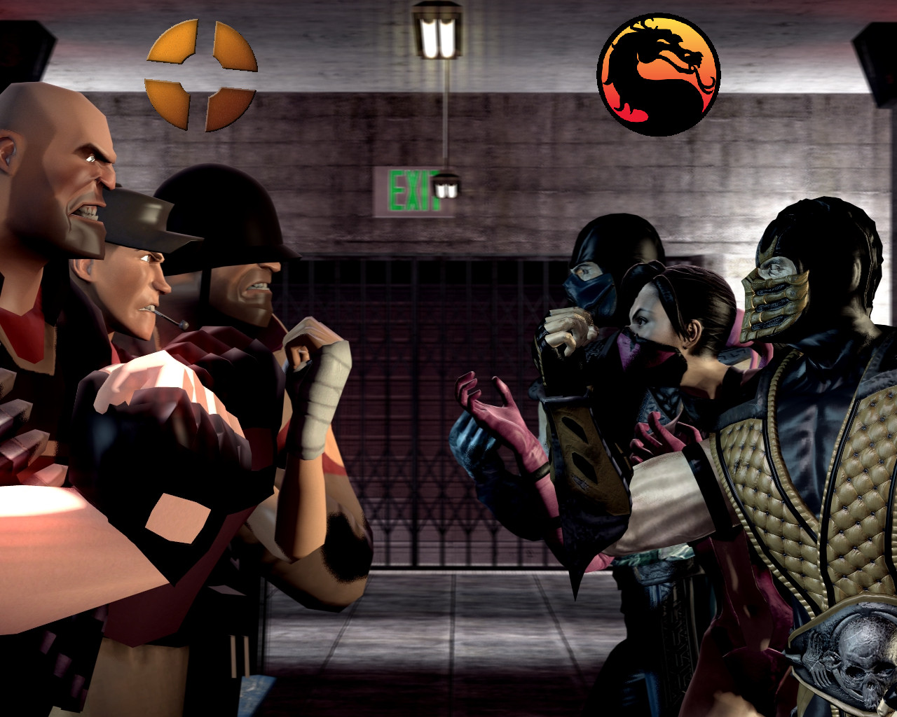 Team Fortress VS Mortal Kombat by WitchyGmod