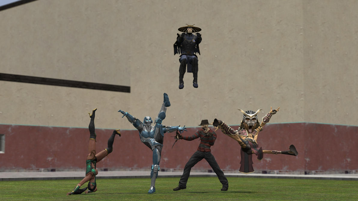 how to dance in gmod