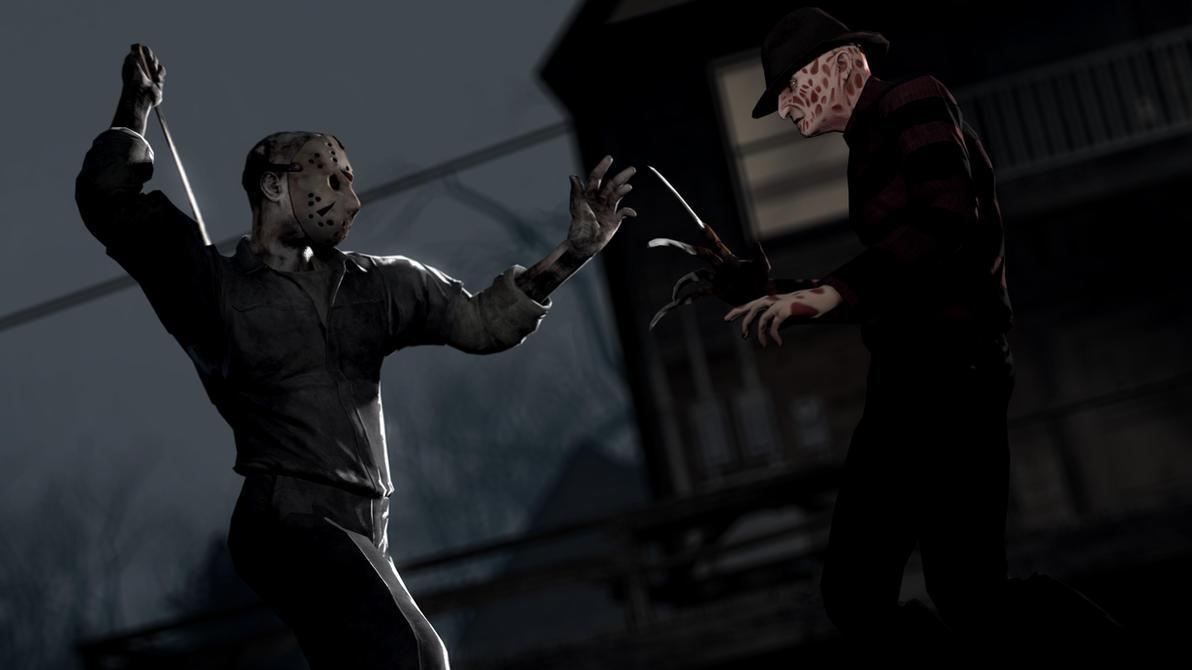 Freddy Vs Jason By WitchyGmod