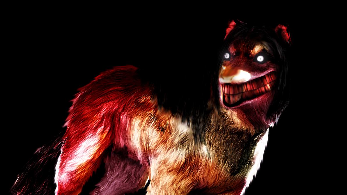 smile dog nightmare by witchygmod on deviantart