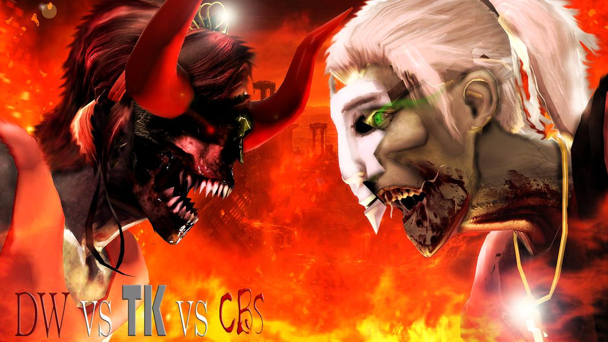 The Devil Vs The Psycho by WitchyGmod