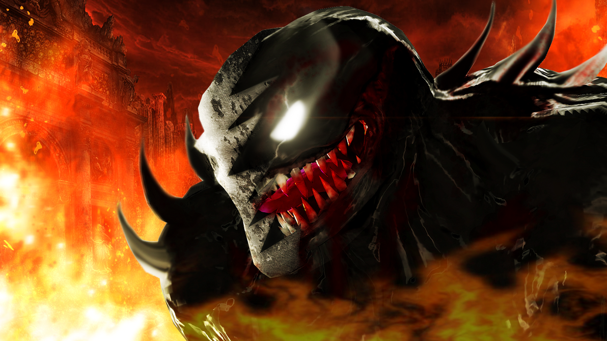 The beast from hell by WitchyGmod