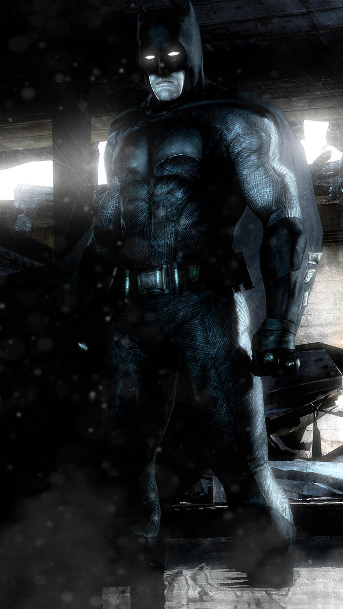 Batfleck by WitchyGmod