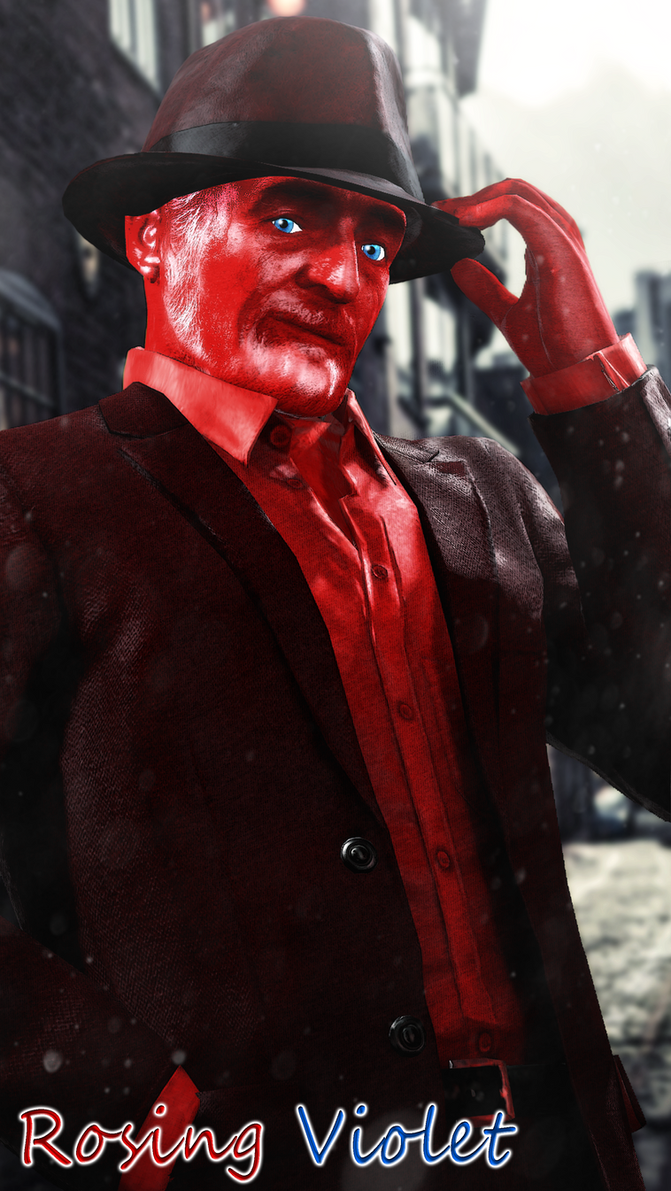 Rosing Violet - Sir Red by WitchyGmod