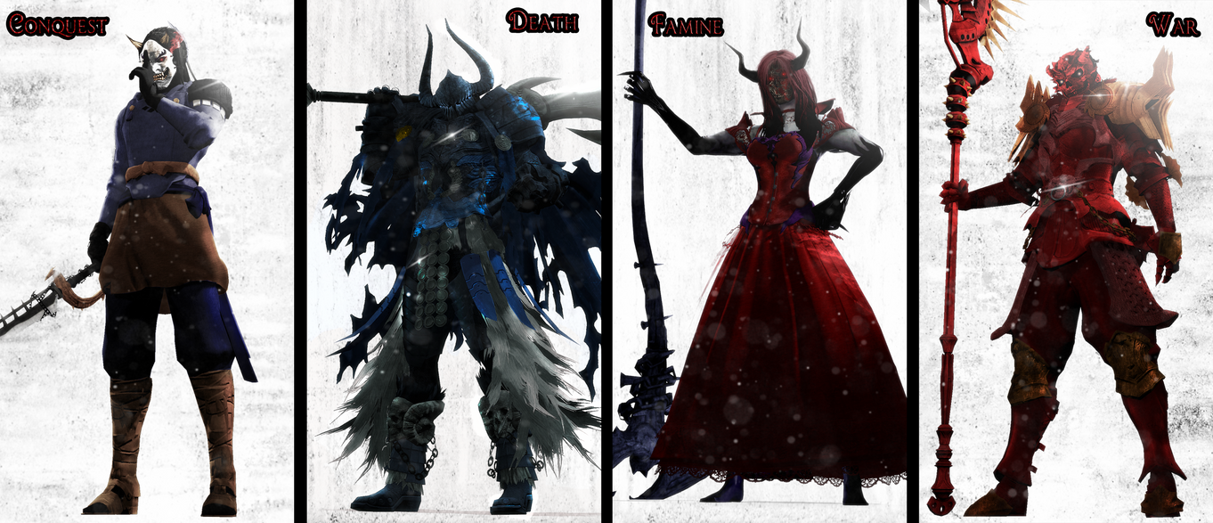 The Four Horsemen Of The Apocalypse Darksiders Names - The Past
