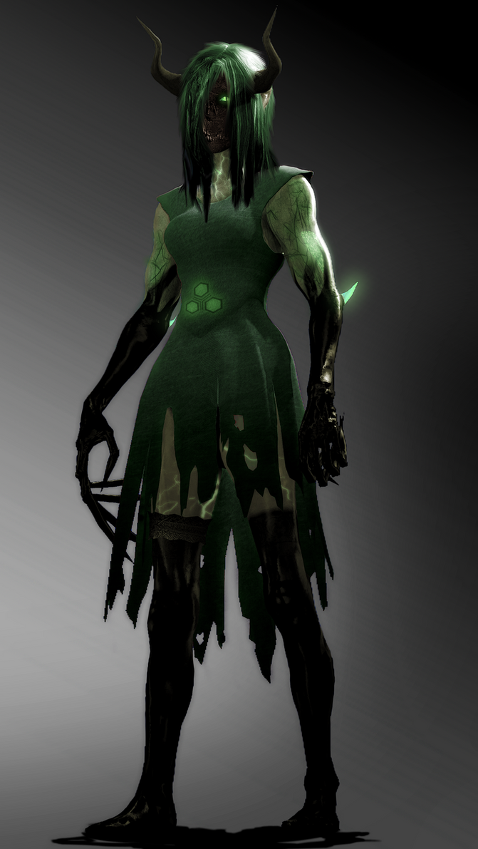 Tiberium Devil [random design] by WitchyGmod