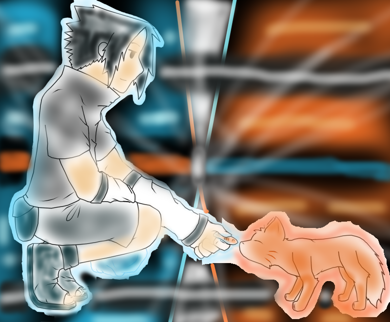 Sasuke and Cat by whitesnowskater on DeviantArt  Sasuke As A Cat
