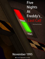 Five Nights at Freddy's Last Call Film Poster by Tesla51